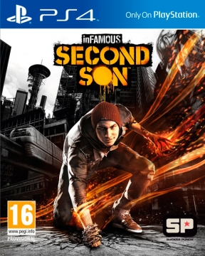 Infamous: Second Son PS4 Cover