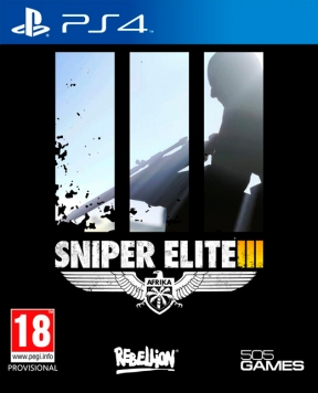 Sniper Elite 3 PS4 Cover