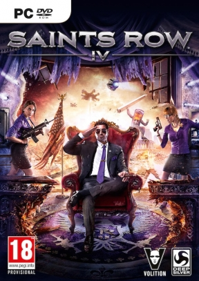 Saints Row IV PC Cover