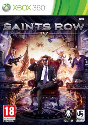 Saints Row IV Xbox 360 Cover
