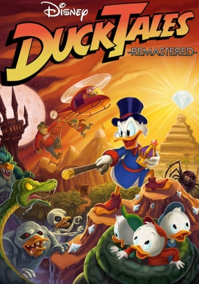 DuckTales Remastered Wii U Cover