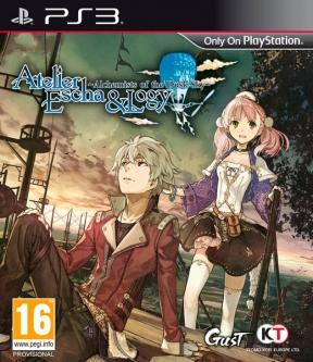 Atelier Escha & Logy: Alchemist of Dusk Sky PS3 Cover