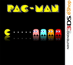 Pac-Man (NES) 3DS Cover