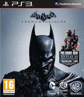 Batman: Arkham Origins PS3 Cover