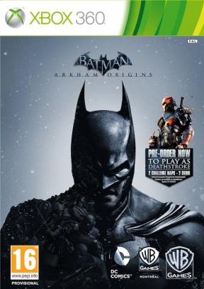 Batman: Arkham Origins Xbox 360 Cover