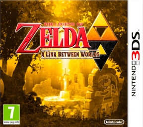 The Legend of Zelda: A link between Worlds 3DS Cover