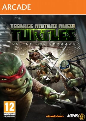 Teenage Mutant Ninja Turtles Out of Shadows Xbox 360 Cover