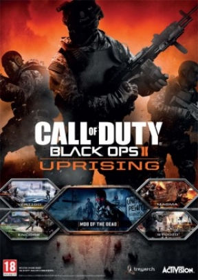 Call of Duty Black Ops 2: Uprising Map Pack Xbox 360 Cover