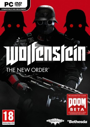 Wolfenstein: The New Order PC Cover