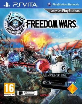 Freedom Wars PS Vita Cover