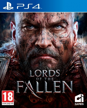 Lords of the Fallen PS4 Cover
