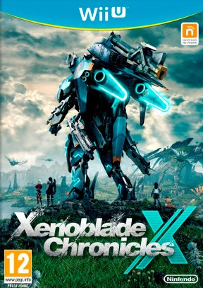 Xenoblade Chronicles X Wii U Cover