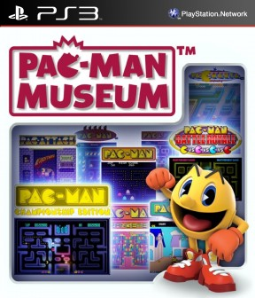 PAC-MAN Museum PS3 Cover