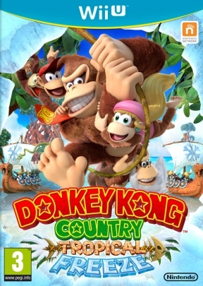 Donkey Kong Country: Tropical Freeze Wii U Cover