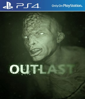 Outlast PS4 Cover