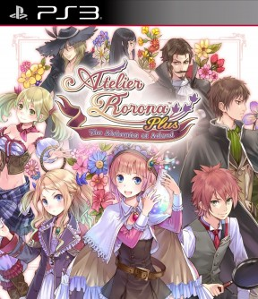 Atelier Rorona Plus: The Alchemist of Arland PS3 Cover