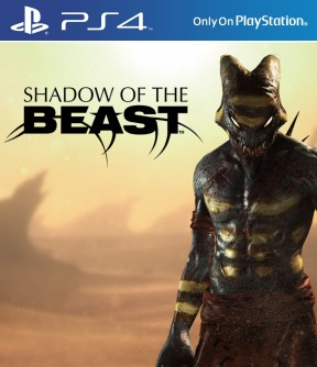 Shadow of the Beast Remake PS4 Cover