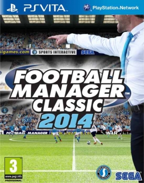 Football Manager Classic 2014 PS Vita Cover