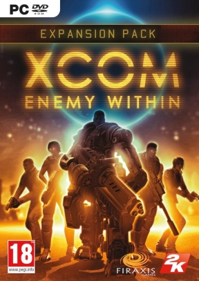 XCOM: Enemy Within PC Cover