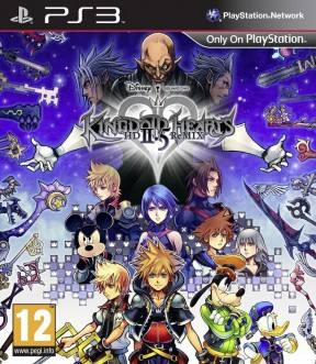 Kingdom Hearts HD 2.5 ReMIX PS3 Cover