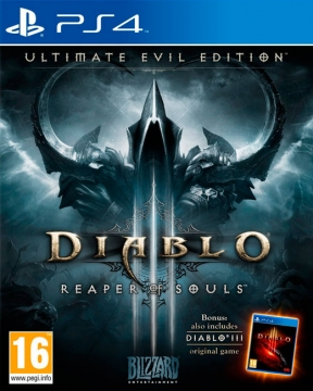 Diablo III: Ultimate Evil Edition PS4 Cover