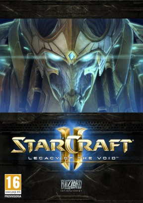 Starcraft II: Legacy of the Void PC Cover