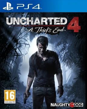 Uncharted 4: Fine di un Ladro PS4 Cover