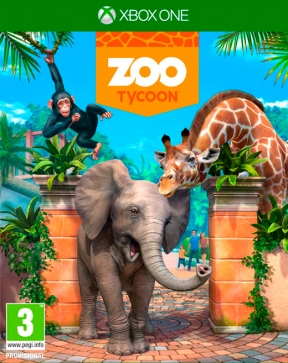 Zoo Tycoon (2013) Xbox One Cover