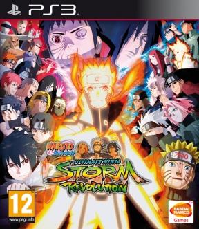 Naruto Shippuden: Ultimate Ninja Storm Revolution PS3 Cover