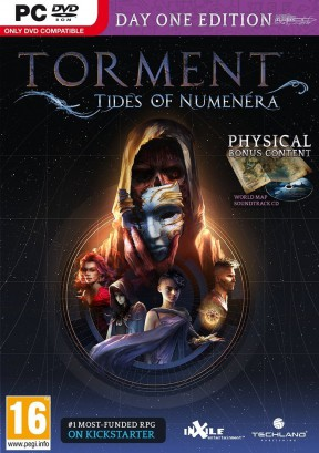 Torment: Tides of Numenera PC Cover