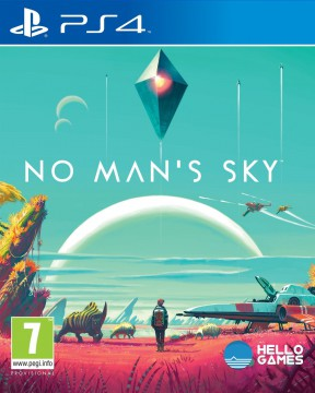 No Man's Sky PS4 Cover