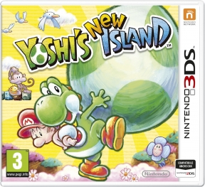 Yoshi's New Island 3DS Cover