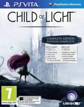 Child of Light PS Vita Cover