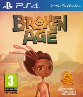 Broken Age PS4 Cover