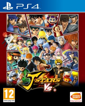 J-Stars Victory Vs+ PS4 Cover