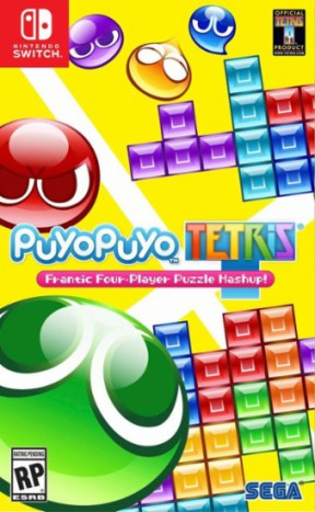 Puyo Puyo Tetris Switch Cover