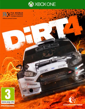 DiRT 4 Xbox One Cover