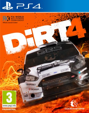 DiRT 4 PS4 Cover