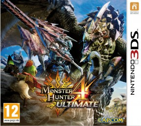Monster Hunter 4 Ultimate 3DS Cover