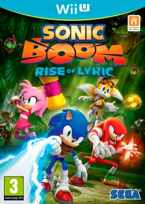 Sonic Boom: l'Ascesa di Lyric Wii U Cover