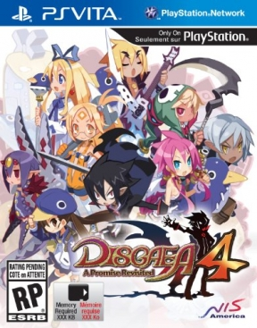 Disgaea 4: A Promise Revisited PS Vita Cover