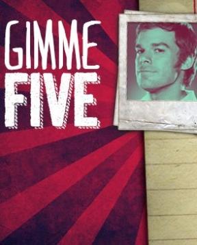 GIMME FIVE: Dexter VS 5 Famosi Serial Killer PC Cover