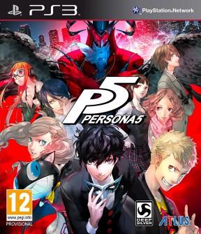 Persona 5 PS3 Cover