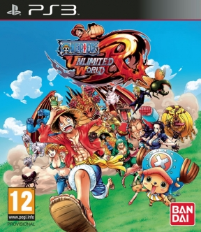 One Piece Unlimited World Red PS3 Cover