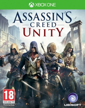 Assassin's Creed: Unity Xbox One Cover