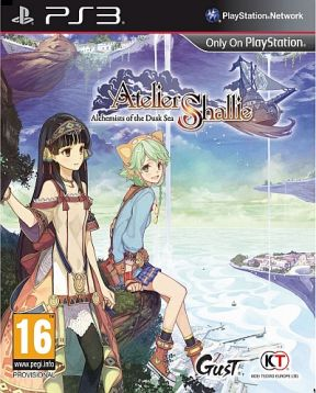 Atelier Shallie: Alchemists of the Dusk Sea PS3 Cover