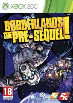 Borderlands: The Pre-Sequel Xbox 360 Cover