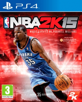 NBA 2K15 PS4 Cover