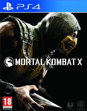 Mortal Kombat X PS4 Cover