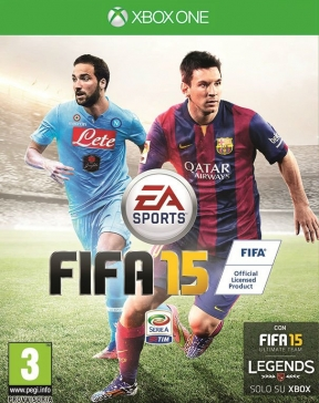 FIFA 15 Xbox One Cover